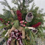 Planter F 11″ Merry Christmas